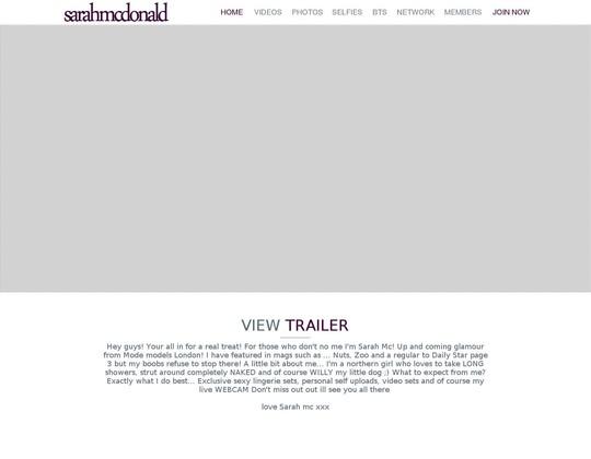 sarah mcdonald sarah-mcdonald.com
