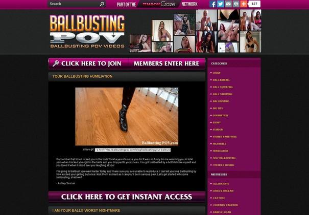 ballbusting pov ballbustingpov.com
