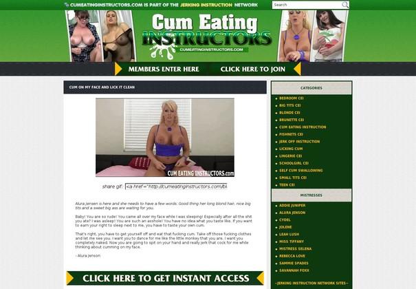 cum eating instructors cumeatinginstructors.com