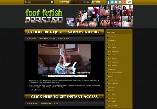 foot fetish addiction footfetishaddiction.com