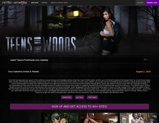 teensinthewoods.com